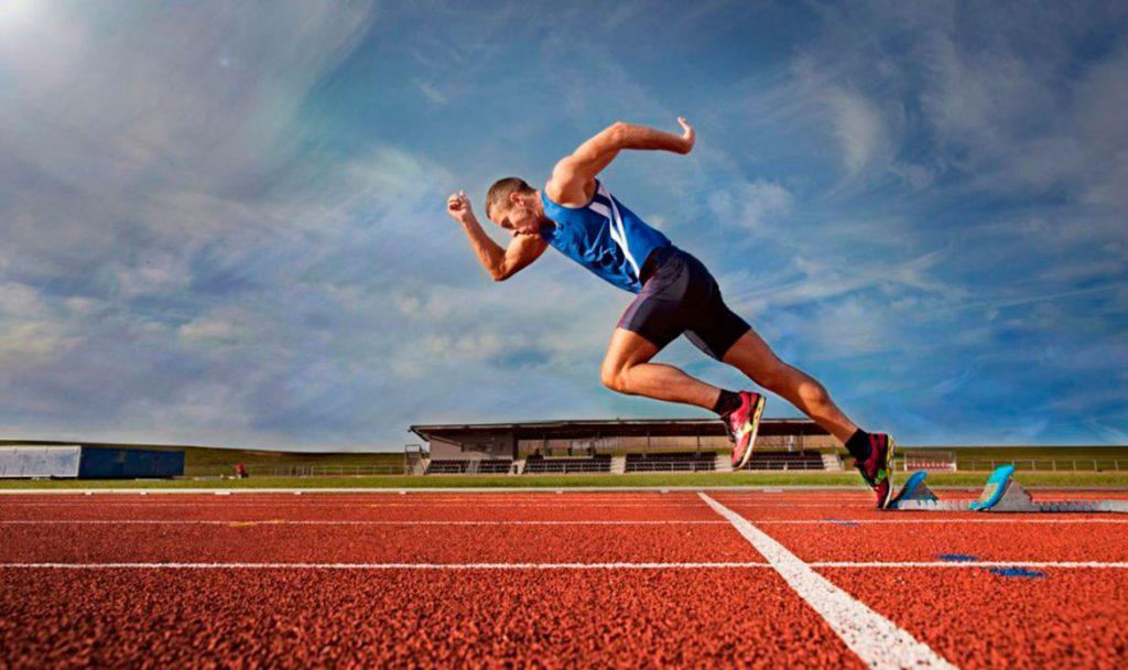 Картинка низкий старт в легкой атлетике