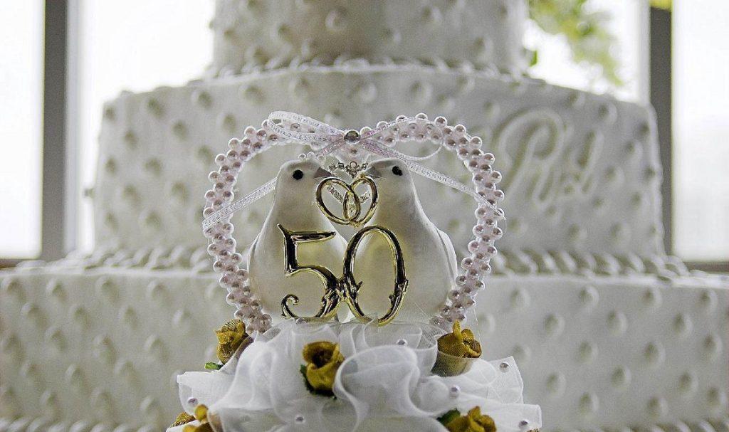 Золотая свадьба картинка