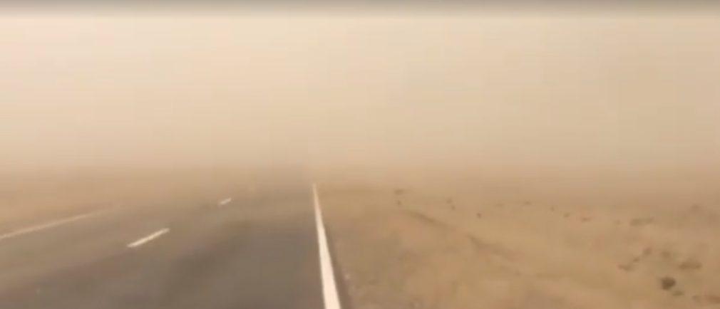 ГАИ Ставрополья сообщает о пыльных бурях на востоке региона