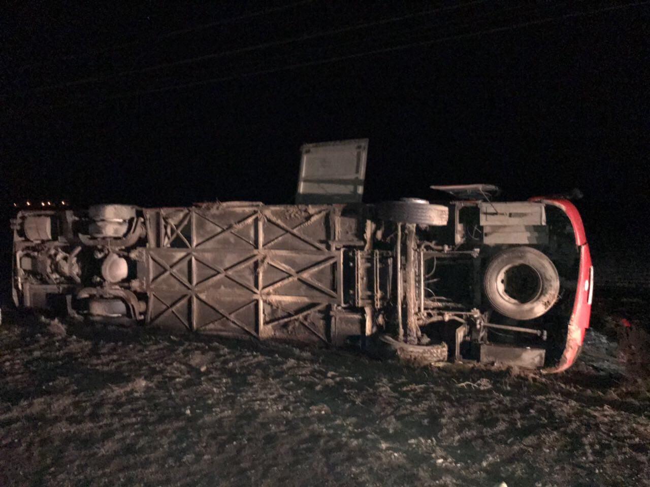 При трагедии сучастием автобуса наСтаврополье пострадали три человека