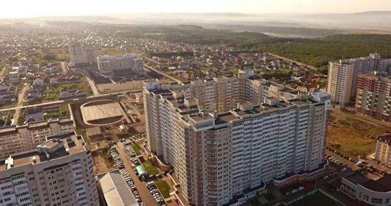 Продолжается обустройство 530 квартала Ставрополя