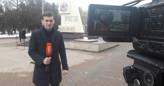 Своё ТВ ведёт прямой эфир из Невинномысска, посвящённый годовщине освобождения города от фашистов