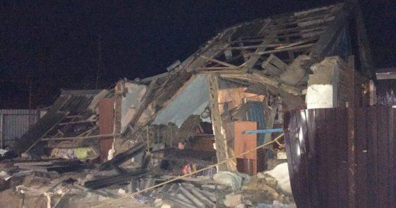 Взрыв газа в Новоалександровске. Есть раненый