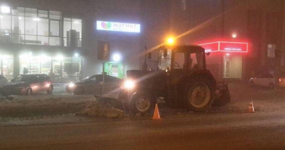 В Ставрополе водитель «Мерседеса» врезался в трактор
