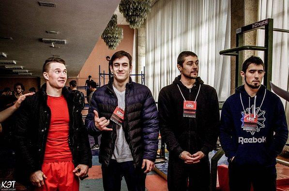 В Ставрополе лучшим уличным атлетам России вручили премию «Кардо»