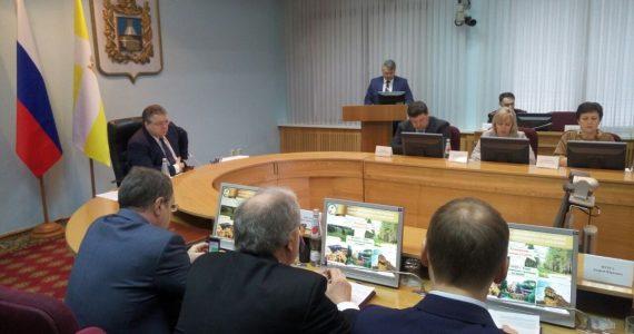 В правительстве Ставропольского края подвели итоги года экологии