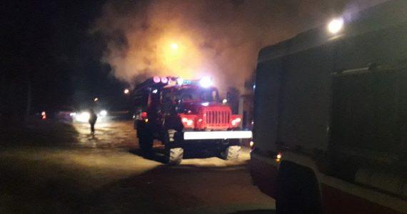 В Пелагиаде сгорел частный дом. Погиб 1 человек