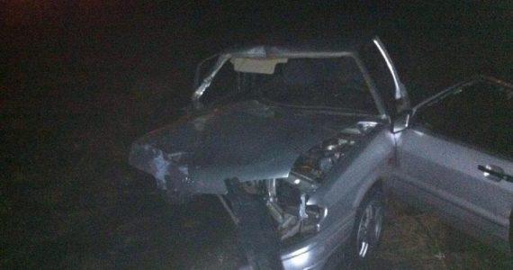 В Андроповском районе легковушка въехала в КАМАЗ