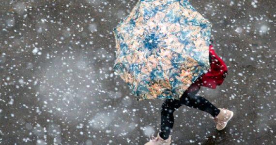 На выходных в Ставропольском крае ожидается снег