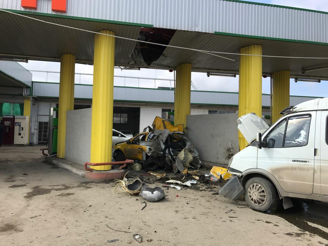 ВМинераловодском городском округе произошел взрыв наметановой АЗС