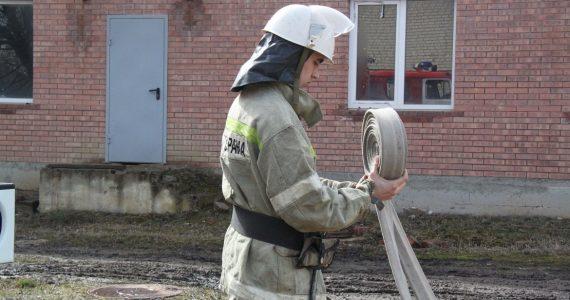 Огненный уик-энд. В Георгиевском городском округе сгорела баня