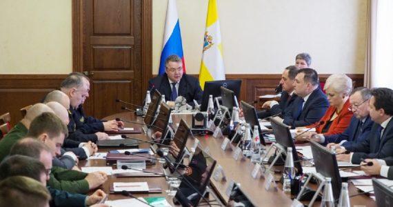 Губернатор Ставропольского края Владимиров провёл заседание антинаркотической комиссии