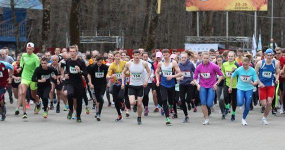 В парке Победы Ставрополя готовятся к забегу в честь Всемирного дня здоровья
