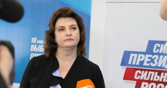 Сопредседатель регионального штаба ОНФ Александра Будяк: Путин поставил задачу войти в пятёрку самых сильных экономик мира, эта работа должна начинаться на местах