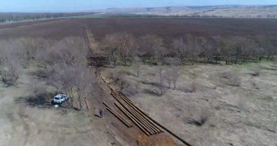 Квадрокоптер помог Россельхознадзору обнаружить повреждения земель Ставропольского края. ВИДЕО