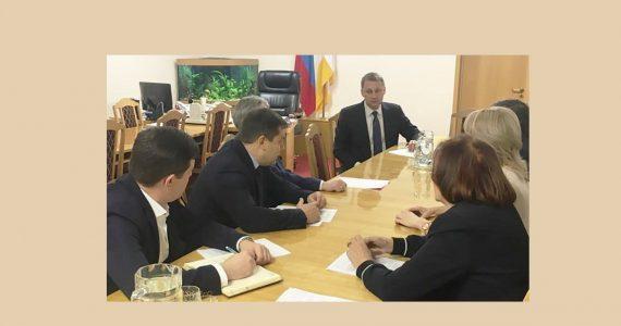 В правительстве Ставропольского края обсудили внедрение инноваций и переход к «умной экономике»
