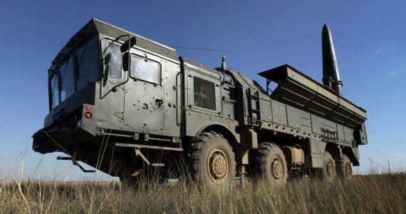 Ракетные комплексы «Искандер-М» прибыли в Ставропольский край на учения