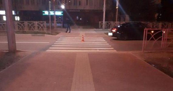 В Невинномысске водитель «Опеля» проехал по ноге женщины-пешехода