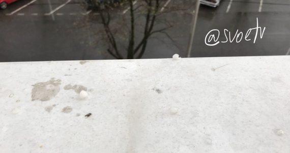 В Ставрополе прошёл дождь с градом. Видео
