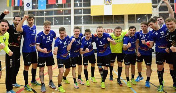 Ставропольские гандболисты «Динамо-Виктор» одержали победу над краснодарским СКИФом