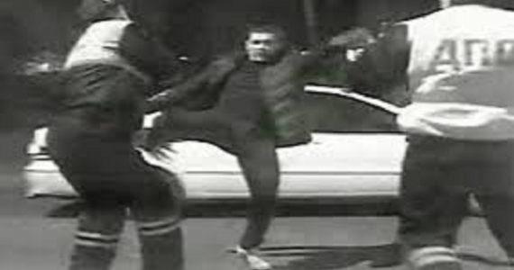 Водитель из станицы Марьинской избил сотрудника ГИБДД камнем