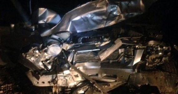В лобовом столкновении в Изобильненском округе ранены три человека. Один человек погиб