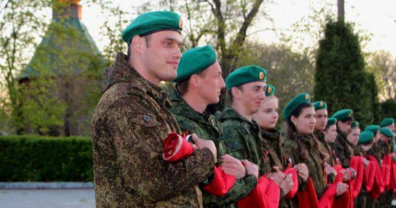 Знамя Победы развернули в Апанасенковском районе