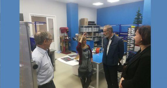 Делегация французской компании по производству семян посетила ставропольский «Кванториум»