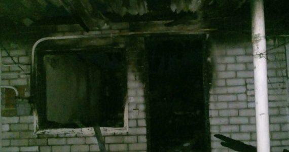 Один человек погиб в пожаре на летней кухне в посёлке Дёмино