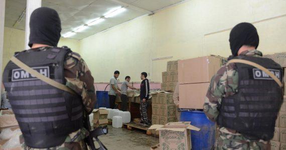 Алкоголь, табак и одежда. Ставропольская полиция озвучила итоги операции «Контрафакт»