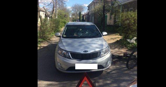 16-летний велосипедист после ДТП в Ставрополе госпитализирован с травмой головы
