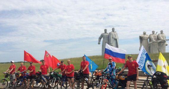 «Велотур Памяти» стартует в Ставрополе у мемориала «Вечная Слава»