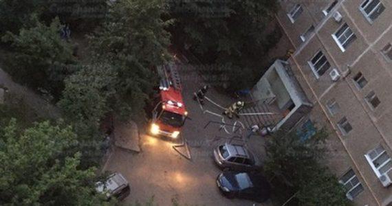 Курица, забытая на включённой плите, стала причиной пожара в Ставрополе