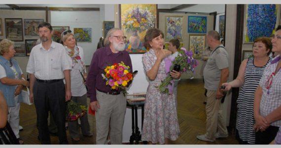 Персональная выставка Натальи Корсун открылась в Пятигорске