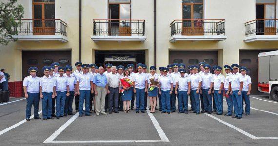 Губернатор Ставропольского края поздравил сотрудников пожарного надзора с профессиональным праздником