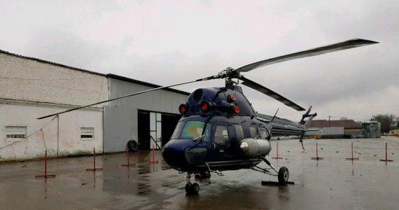 Житель Новоалександровска продаёт вертолёт Ми-2 за 5 миллионов рублей