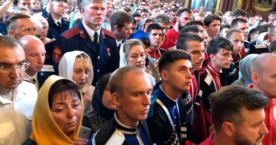 Молодёжь Терского казачьего войска участвует в III Евразийском форуме «Казачье единство»