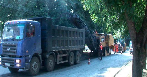 В Георгиевском городском округе ремонтируют дороги