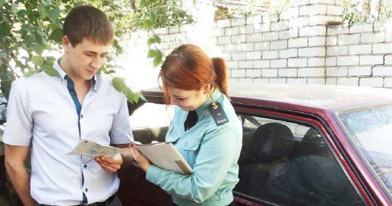 Ставрополец прятал машину от приставов, чтобы не возвращать долги