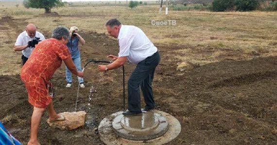 Больше 250 дворов хутора Беляев получили долгожданную питьевую воду
