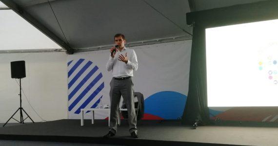 Начальник управления по общественным проектам администрации президента России Сергей Новиков принял участие в форуме «Машук»