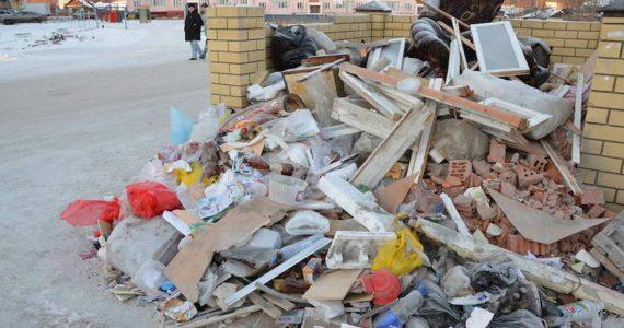 Ставропольцев будут штрафовать за выброс строительного мусора в неположенном месте