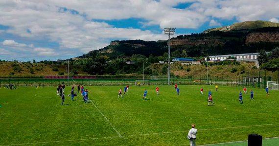 Кисловодский «Нарзан» взял лидерство в своей группе в Первенстве края по футболу среди ветеранов