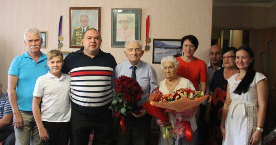 Двойной юбилей отметил ветеран ВОВ в Невинномысске