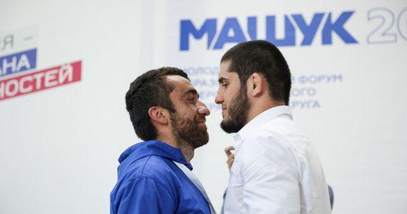 О мотивации и проигрышах на форуме «Машук-2018» участники спрашивали у именитых бойцов UFC