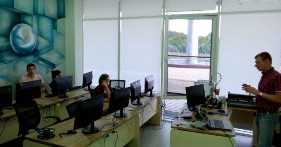 В технопарке «Кванториум» провели занятия для ставропольских студентов