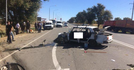 99-летний водитель погиб, ещё три человека получили ранения в ДТП на ставропольской трассе