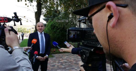 Глава КЧР Рашид Темрезов пожелал Ставропольскому краю процветания