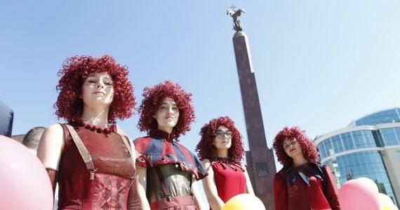 Инсталляция, мастер-класс по рисованию, мультимедийная экскурсия. В Ставрополе в День края работают десятки арт-площадок
