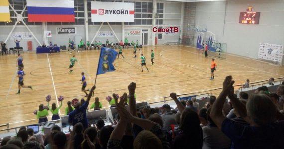 Гандболисты ставропольского «Динамо-Виктор» одержали победу над Саратовским СГАУ